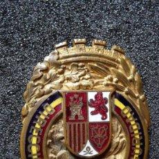 Militaria: (JX-104)PLACA DE FUNCIONARIO DEL CUERPO DE VIGILANCIA Y SEGURIDAD EPOCA II REPUBLICA NUMERADA. Lote 31553663
