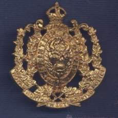 Militaria: CANADÁ. INSIGNIA DE GORRA. ROYAL NORTH WEST MOUNTED POLICE.. Lote 31616086