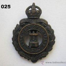 Militaria: REINO UNIDO : INSIGNIA BRITÁNICA DEL REGIMIENTO DE RIFLES DE LA ISLA DE WIGHT. ENVÍO GRATUITO.. Lote 31698516
