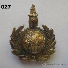 Militaria: REINO UNIDO : INSIGNIA BRITÁNICA DE LA MARINA MERCANTE. ENVÍO CERTIFICADO GRATUITO.. Lote 31698704