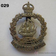 Militaria: REINO UNIDO : INSIGNIA BRITÁNICA DEL BATALLÓN DRAKE, DE LA ROYAL NAVY. ENVÍO CERTIFICADO GRATUITO.. Lote 31698841