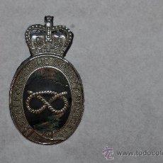 Militaria: PLACA DE GORRA DE UN CONDADO DE INGLATERRA. Lote 31771375