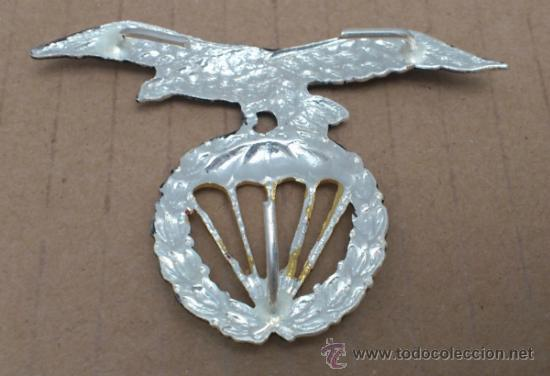 Militaria: INSIGNIA BRIPAC, AGUILA BOINA BRIGADA PARACAIDISTA medida7x5 cnts - Foto 2 - 168651754