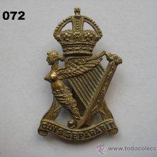 Militaria: REINO UNIDO : INSIGNIA BRITÁNICA DEL REGIMIENTO THE ROYAL ULSTER RIFLES. ENVÍO CERTIFICADO GRATUITO.. Lote 32119819