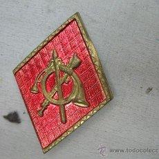 Militaria: INSIGNIA DE BRONCE. Lote 32262399