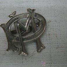 Militaria: INSIGNIA CHAPA PLATEADA. Lote 32263537