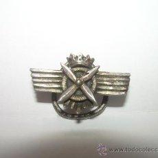 Militaria: ANTIGUA INSIGNIA DE PLATA.. Lote 32665428