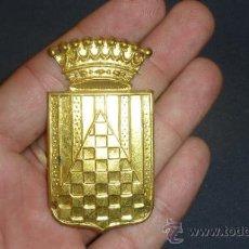 Militaria: CHAPA DE BRAZO DEL CUERPO DE URGEL. GUERRA CIVIL. SIN PINTAR.. Lote 32865201