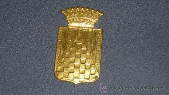 Militaria: Chapa de brazo del Cuerpo de Urgel. Guerra civil. Sin pintar. - Foto 3 - 32865201