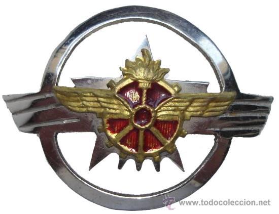 INSIGNIA CUERPO DE TREN . GUERRA CIVIL ESPAÑOLA (Militar - Insignias Militares Españolas y Pins)
