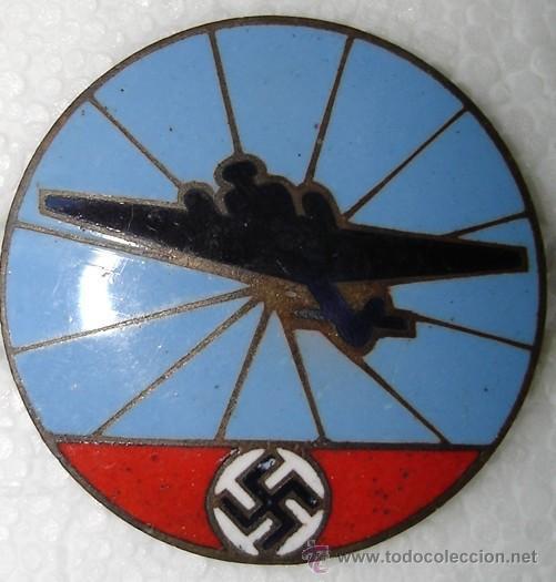 INSIGNIA BOMBARDERO ALEMAN HEINKEL. ORIGINAL (Militar - Insignias Militares Internacionales y Pins)