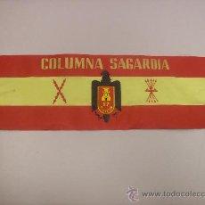 Militaria: BRAZALETE COLUMNA SAGARDIA DIVISION 62 BURGOS. Lote 34078964