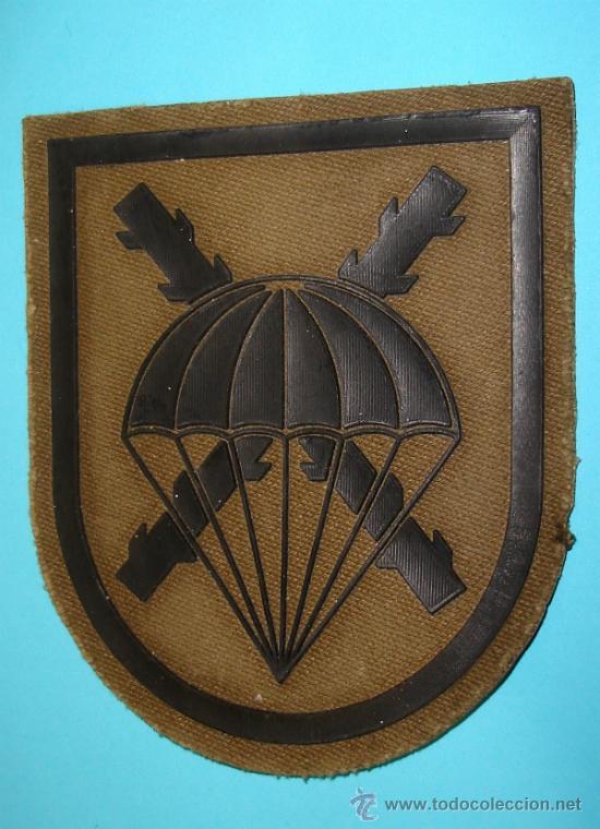 DISTINTIVO DE BRAZO. BRIGADA PARACAIDISTA. RARO. 8CM (Militar - Insignias Militares Españolas y Pins)