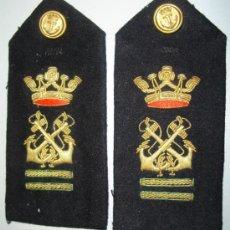 Militaria: HOMBRERAS DE MARINA. BORDADAS. AÑOS 40. ORIGINALES. . Lote 34521337