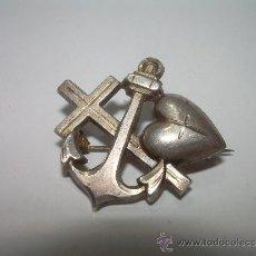 Militaria: ANTIGUA INSIGNIA DE PLATA.. Lote 34671208