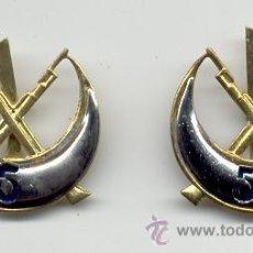 Militaria: INSIGNIAS DE CUELLO DE REGULARES Nº 5. Lote 35183335