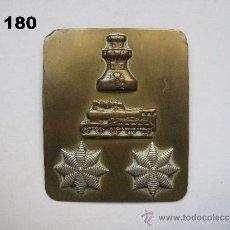 Militaria: INSIGNIA - GALLETA DE CORONEL DE INGENIEROS (FERROCARRILES). ENVÍO CERTIFICADO INCLUIDO.. Lote 35073028