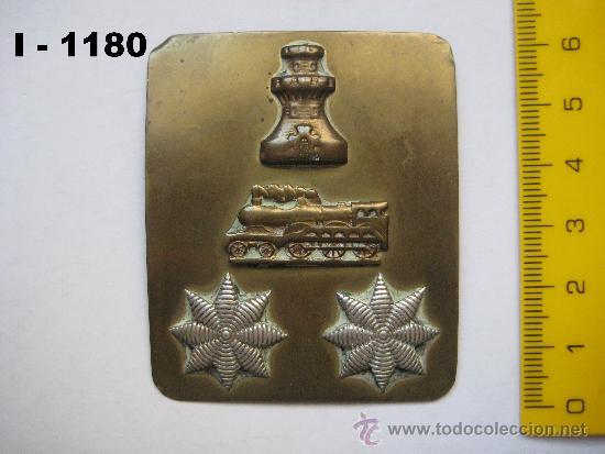 Militaria: INSIGNIA - GALLETA DE CORONEL DE INGENIEROS (FERROCARRILES). ENVÍO CERTIFICADO INCLUIDO. - Foto 2 - 35073028