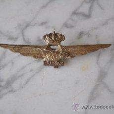 Militaria: DISTINTIVO DE PILOTO MILITAR ITALIANO II GUERRA MUNDIAL. . Lote 35428863