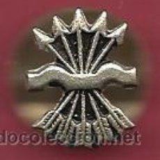 Militaria: INSIGNIA DE DE SOLAPA DE FALANGE RARA PUEDE SER PLATA . Lote 35440507