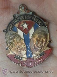 Militaria: Cuba. Distintivo. SNTMP. Cuba territorio libre de américa - Foto 4 - 35779916