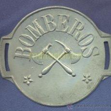 Militaria: BRAZALETE DE BOMBEROS, POSIBLEMENTE BOMBEROS VOLUNTARIOS. EPOCA ALFONSO XIII. PLATEADO.. Lote 35891122