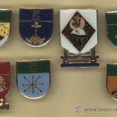 Militaria: LOTE INSIGNIAS GUARDIA CIVIL 7 PIEZAS . Lote 35937421