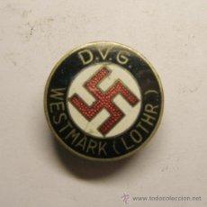 Militaria: .INSIGNIA ALEMANA DE LA 2ª GUERRA MUNDIAL, DEL D V G.. Lote 36062625