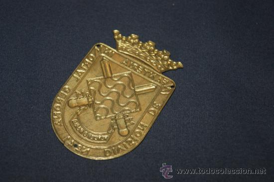 Militaria: Division de infanteria inmortal gerona, placa grande - Foto 2 - 53521228