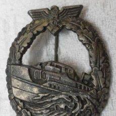 Militaria: ALEMANIA. DISTINTIVO DE LANCHAS TORPEDERAS. KRIEGSMARINE . II GUERRA MUNDIAL. Lote 36295674