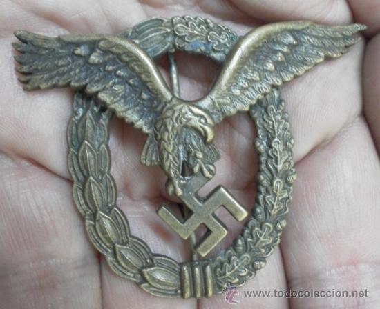 ALEMANIA. DISTINTIVO DE PILOTO. II GUERRA MUNDIAL. (Militar - Insignias Militares Internacionales y Pins)