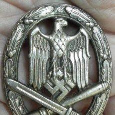 Militaria: ALEMANIA. DISTINTIVO DE ASALTO GENERAL. II GUERRA MUNDIAL. Lote 36296230