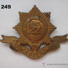 Militaria: REINO UNIDO : INSIGNIA BRITÁNICA DEL REGIMIENTO WORCESTERSHIRE. ENVÍO CERTIFICADO GRATUITO.. Lote 36616248