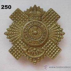 Militaria: REINO UNIDO : INSIGNIA BRITÁNICA DEL REGIMIENTO DE LOS GUARDIAS ESCOCES. ENVÍO CERTIFICADO GRATUITO.. Lote 36616302