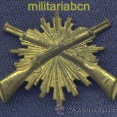 Militaria: INSIGNIA DE GORRA DEL CARABINEROS. EPOCA 2ª REPÚBLICA Y GUERRA CIVIL. 32 X 22 MM.. Lote 36659237