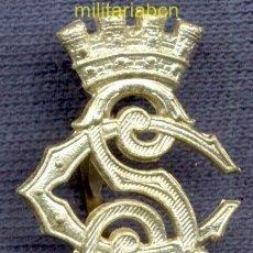Militaria: INSIGNIA DE CUELLO DEL CUERPO DE SEGURIDAD. EPOCA II REPÚBLICA. 25 X 19 MM.. Lote 40313765