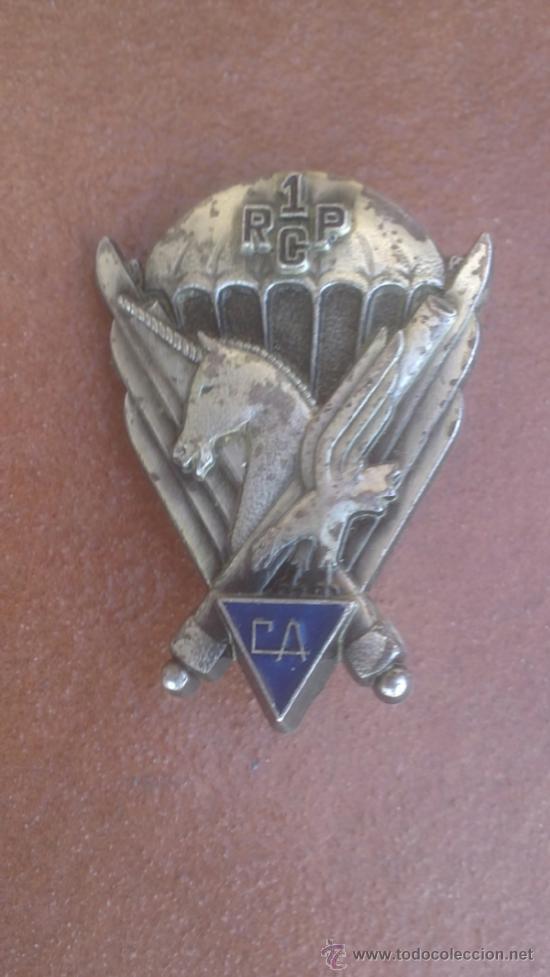 DISTINTIVO PARACAIDISTA (Militar - Insignias Militares Internacionales y Pins)