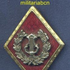 Militaria: ROMBO DE MÚSICA. OFICIAL. ESMALTADO.. Lote 37348500