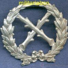 Militaria: INSIGNIA DE CUELLO. REGIMIENTO DE LANCEROS DE FARNESIO. EPOCA ALFONSO XIII. Lote 35062162