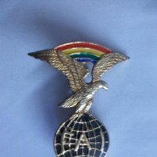 Militaria: AVIACION : EMBLEMA DE LA AVIACION CIVIL INTERNACIONAL . FAI. Lote 40383700