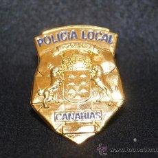 Militaria: PLACA DE PECHO DE LA POLICÍA CANARIA.. Lote 269163488