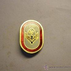 Militaria: REPRODUCCIÓN ESPAÑOLA DE LOS AÑOS 60 DE INSIGNIA ALEMANA DEL 3º REICH.. Lote 38103462