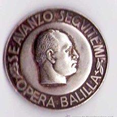 Militaria: BENITO MUSSOLINI, INSIGNIA FASCISTA GUERRA CIVIL ESPAÑOLA,AÑOS 30 FASCISMO -CRUZ DE HIERRO III REICH. Lote 38294066