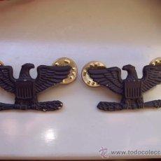 Militaria: PAR DE INSIGNIAS DE CORONEL EJERCITO USA. Lote 38862262