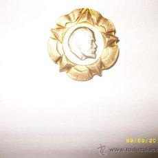 Militaria: INSIGNIA PIN LENIN. Lote 38975593