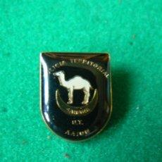 Militaria: PINS DE LA POLICIA TERRITORIAL DEL SAHARA ESPAÑOL. Lote 39142469