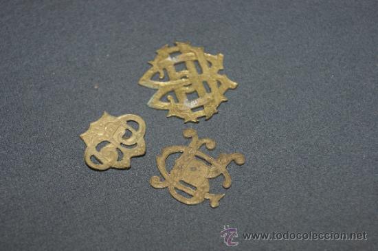 Militaria: Lote de 3 insignias antiguas españolas - Foto 2 - 39303243