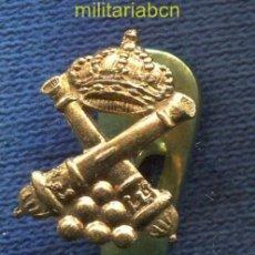 Militaria: INSIGNIA DE SOLAPA DE ARTILLERÍA. EPOCA ALFONSO XIII.. Lote 39330055