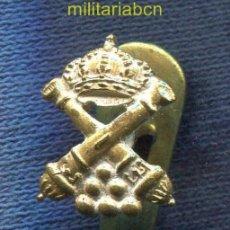 Militaria: INSIGNIA DE SOLAPA DE ARTILLERÍA. EPOCA ALFONSO XIII.. Lote 39330075