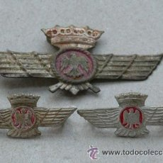 Militaria: 3 INSIGNIAS AVIACION. Lote 39357222